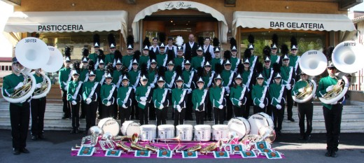 Bedizzole Marching Band today