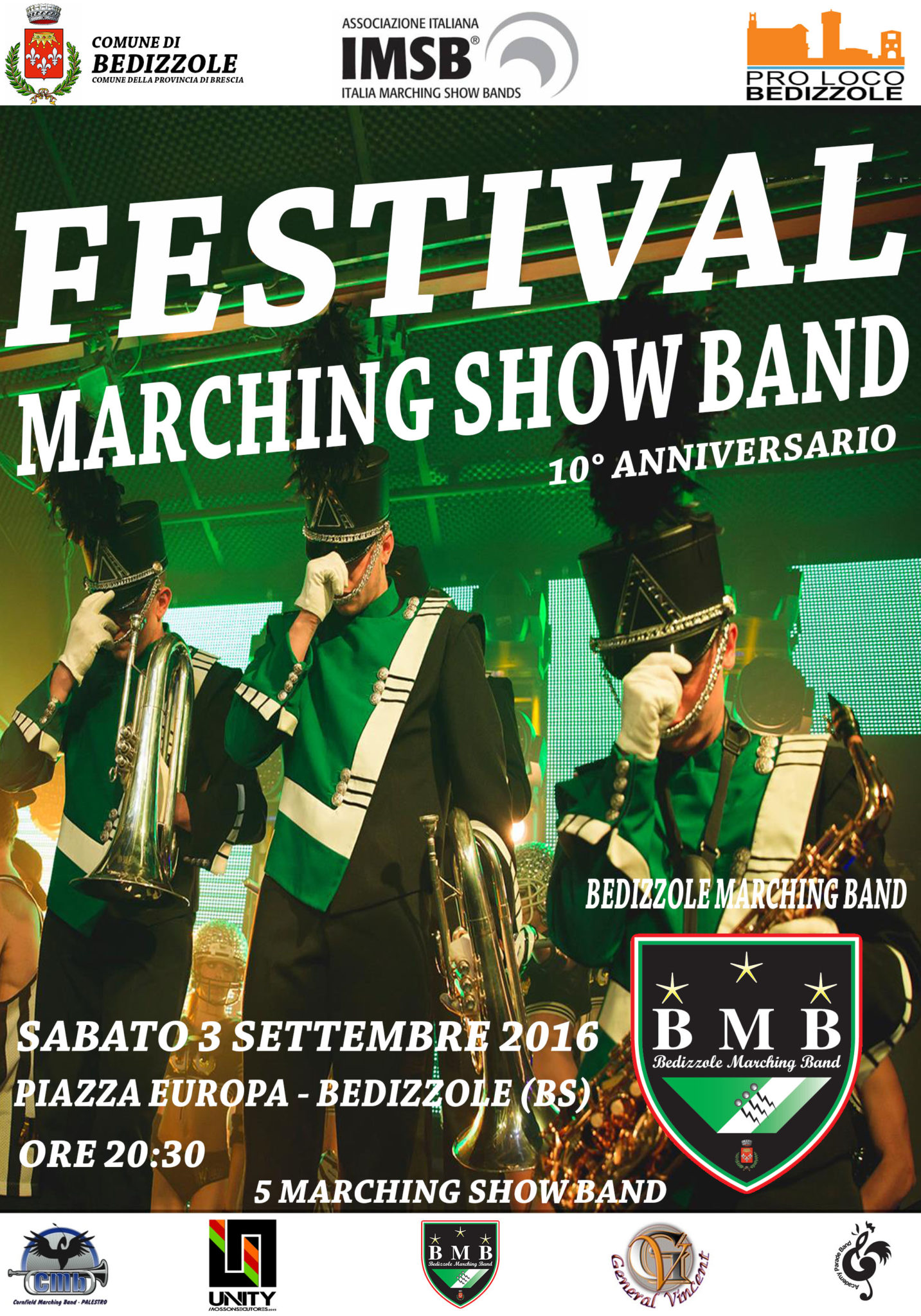 FESTIVAL MARCHING BAND