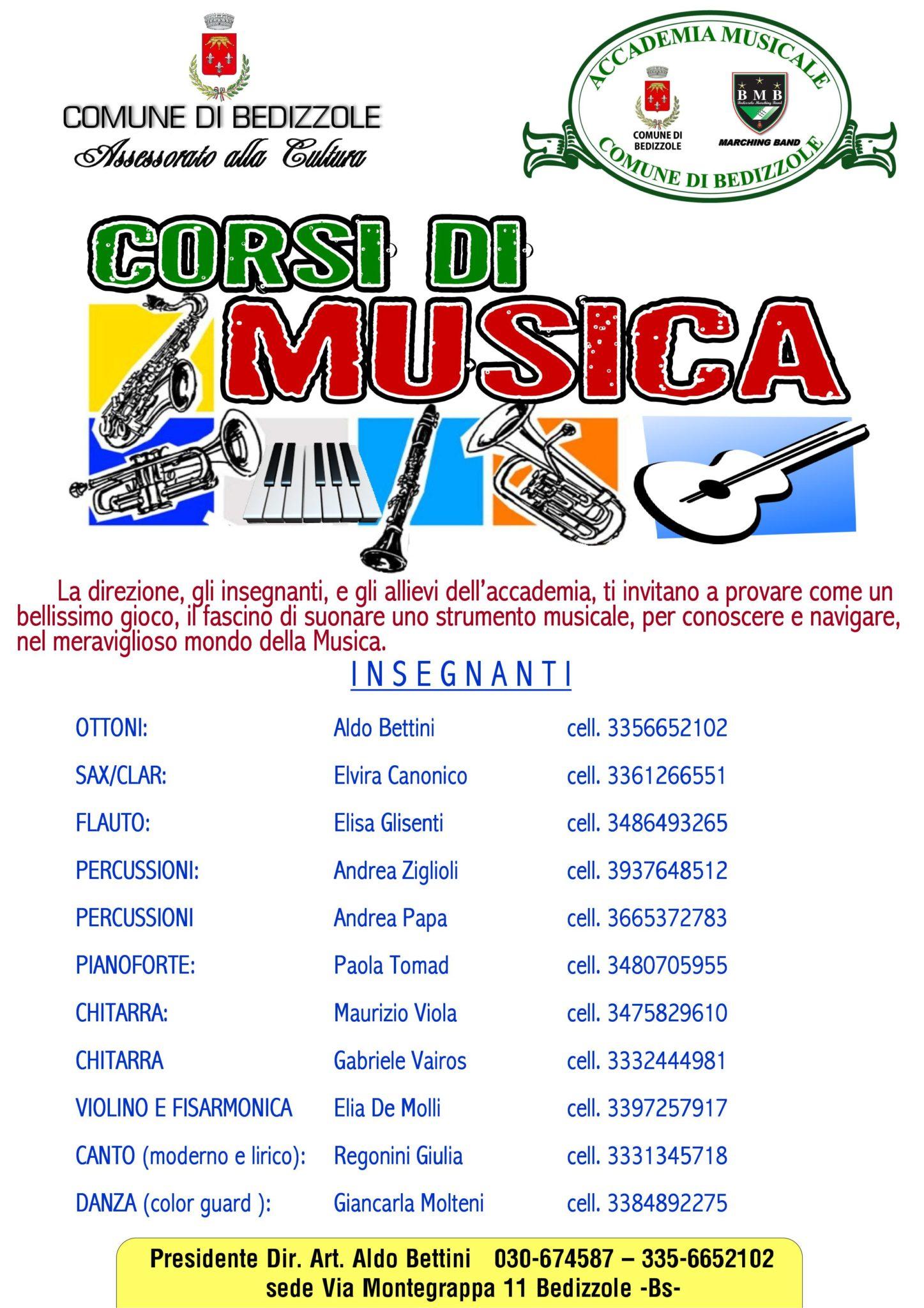 Corsi Accademia 2017/18